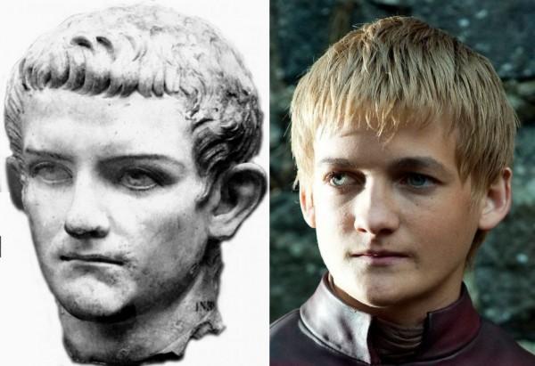 Джофри е одрал кожата на Калигула?!