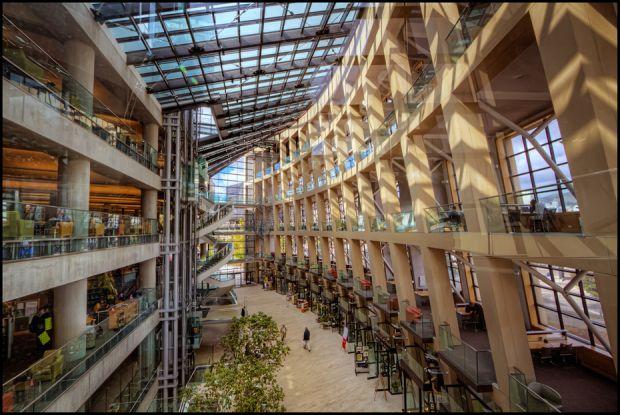 Библиотеката в Солт Лейк Сити