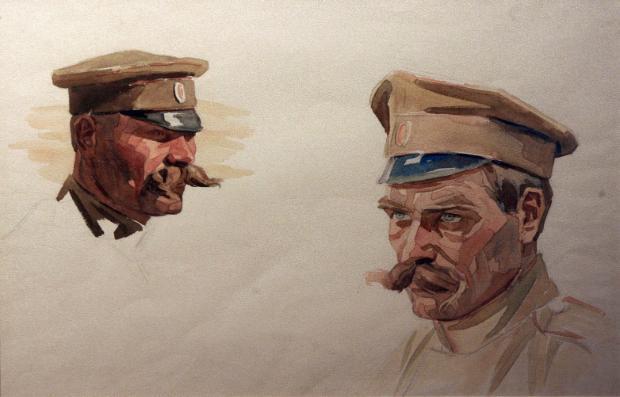 Извадиха неизвестни творби на най-големите художници на войната