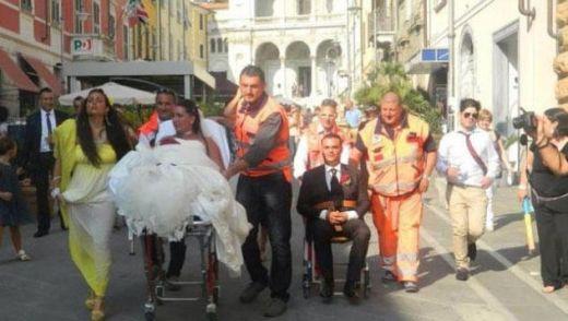Сватба в стил спешно отделение