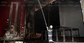 Пожар в драматичен театър Пловдив