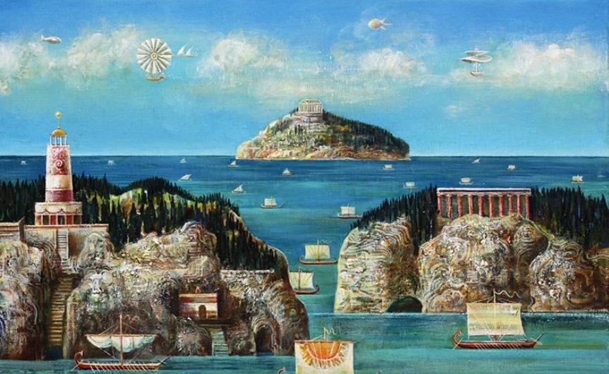Покана за изложба на Валери Ценов във Варна