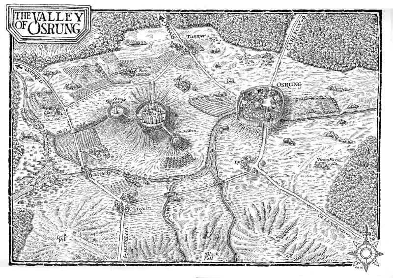 Карта на битката при Героите