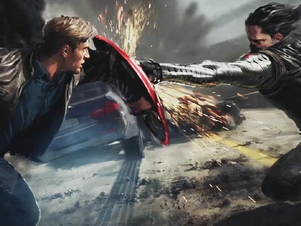 Captain America се завръща ударно с нов трейлър на The Winter Soldier
