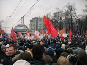 Митинг на Болотни площад в Москва, източник Уикипедия