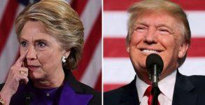 Клинтън и Тръмп