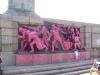 Паметник на съветската армия - в розово