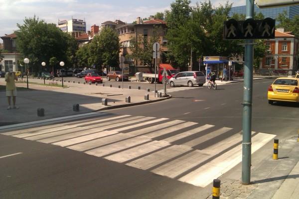 Най-музикалната пешеходна пътека е в Пловдив