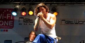 Група Amber на сцената на фестивала през 2010 г.