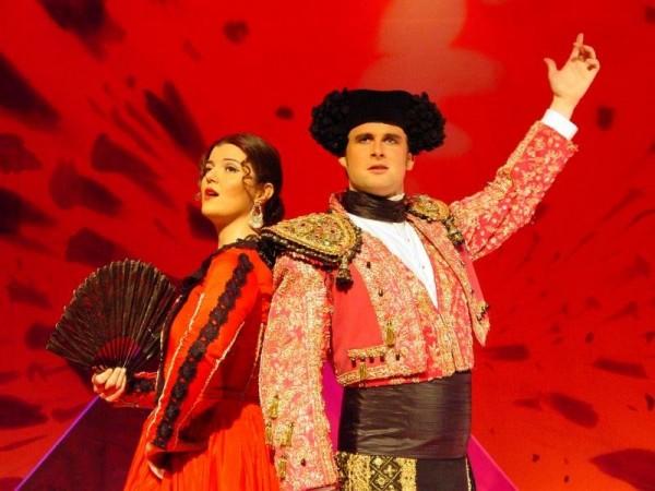 """Операта """"Кармен"""" на Античния театър"""