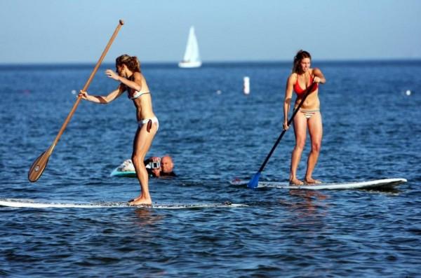 Хайде на сърф с гребло!