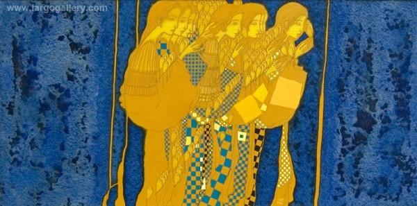 """""""Островът в мен""""  – изложба – живопис на Александър Димитров"""